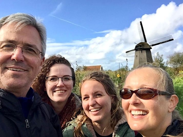 Family in Holland