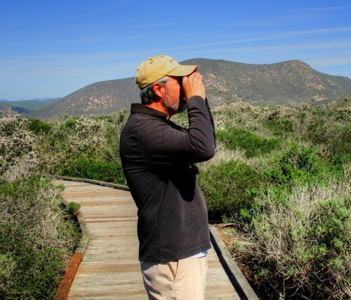 Joe Birdwatching_Small tonemapped