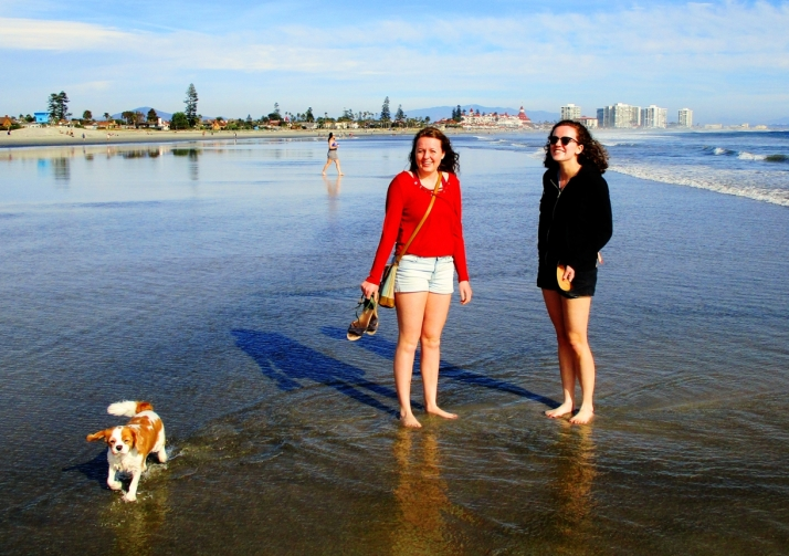 Girls Liz on beach_Small tonemapped