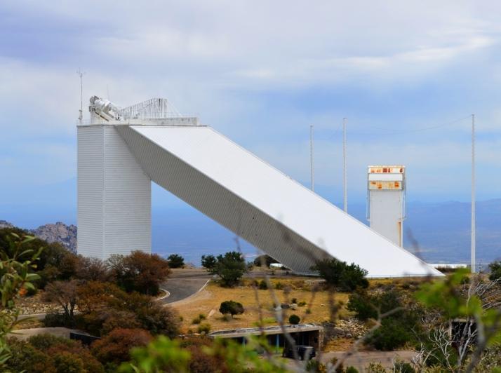 Solar Telescope Kitt Peak_Small tonemapped