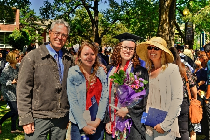 Family Claire Graduation Small