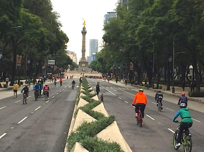 Bikers on Reforma
