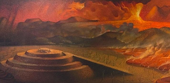 Cuicuilco Mural