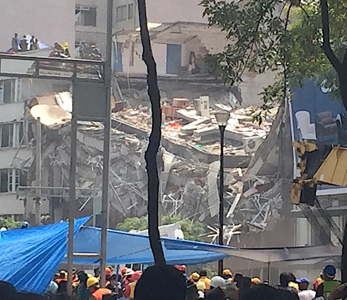 x school collapse
