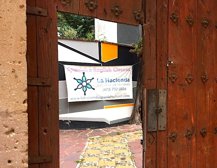 La Hacienda Door
