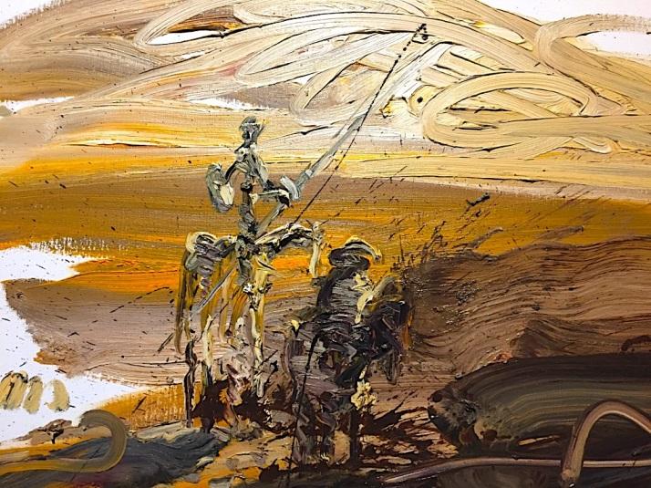 Quixote Painting