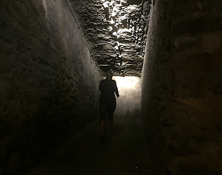 Stairwell dark