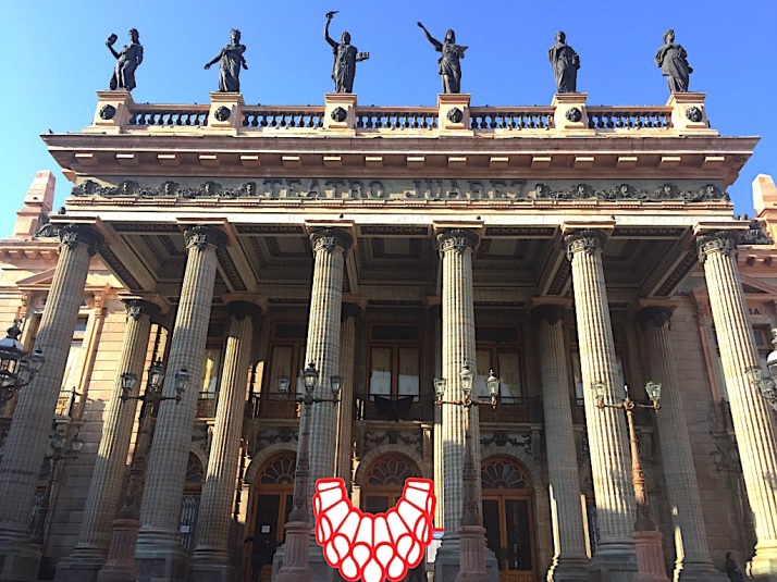 Teatro Juarez exterior
