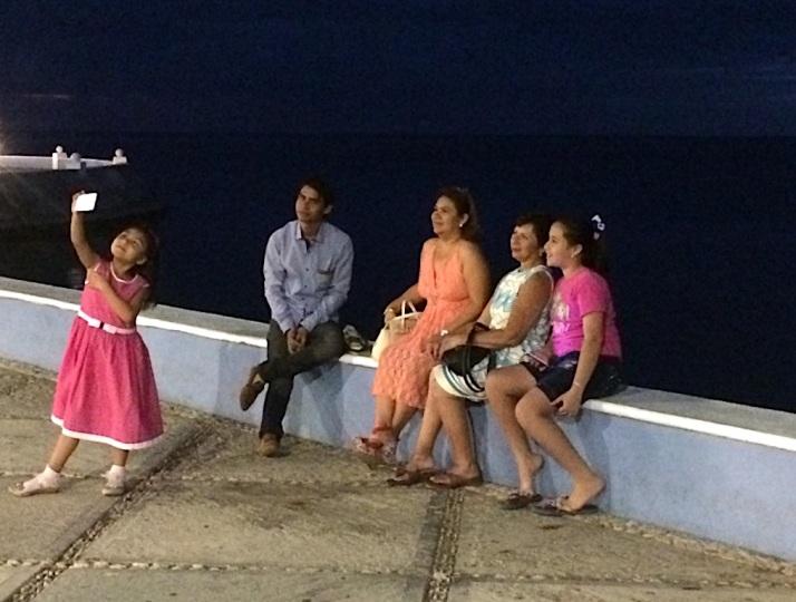 Campeche girl selfie