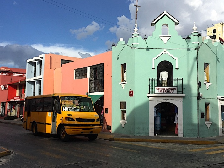 Merida street with bus.jpg