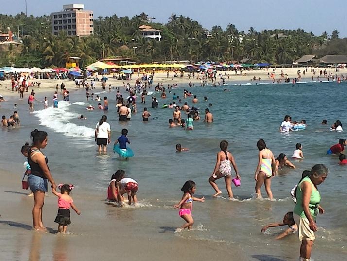 Crowded Beach 1