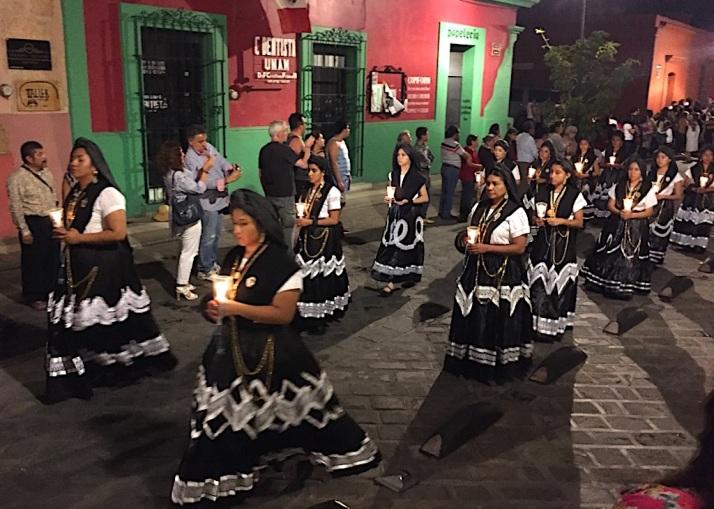 Oaxaca Procession