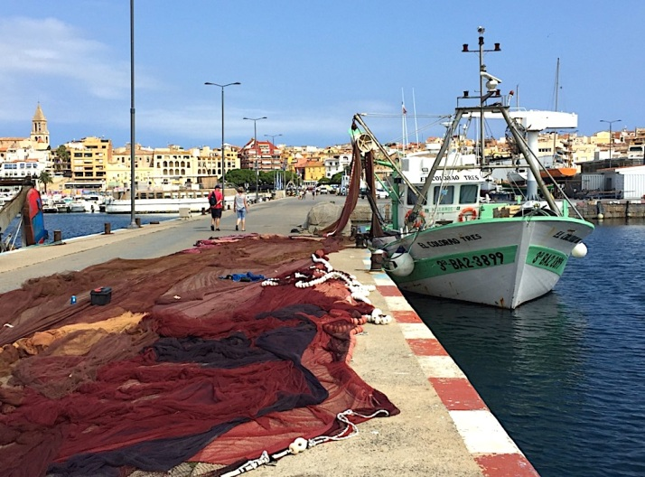 Palamos Fishing boat
