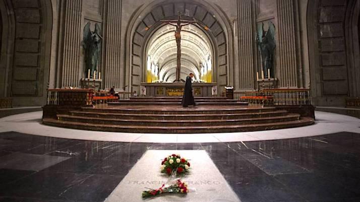 Franco grave