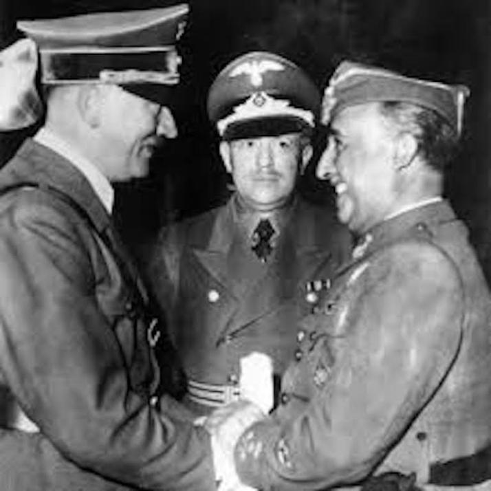 Hitler, Musolini & Franco