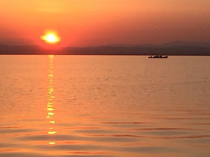 Albufera sunset