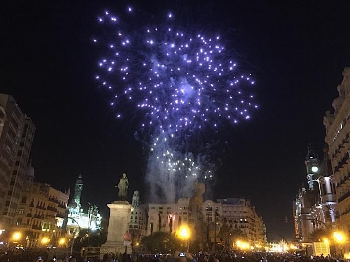 Fireworks Ayuntamiento