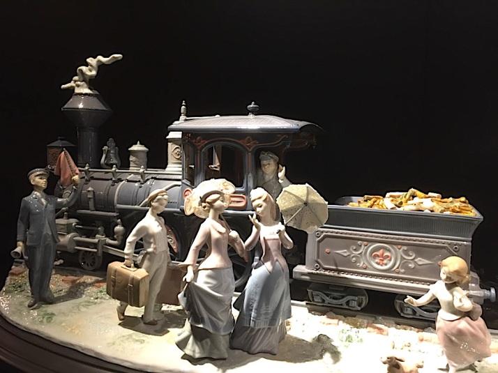 Lladro Locomotive
