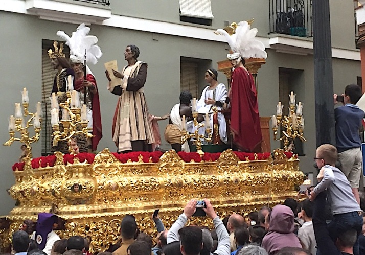 Float gold Cadiz