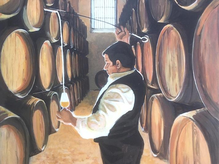 Winemaster mural