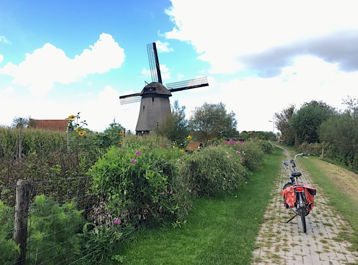 Windmill and bike