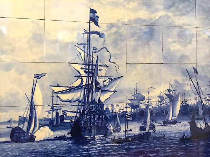 Delft Blue Ships