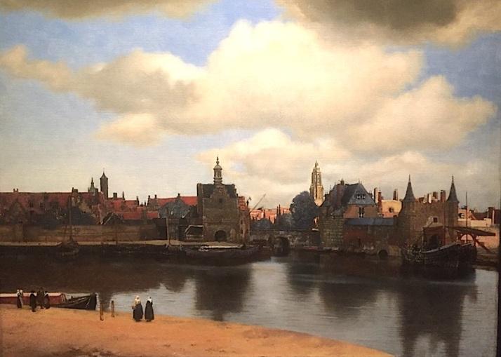 Vermeer Delft view
