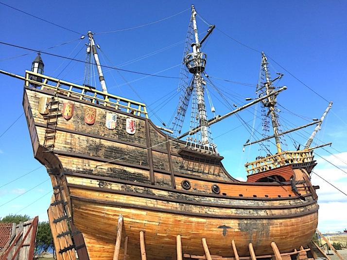 Magellan boat