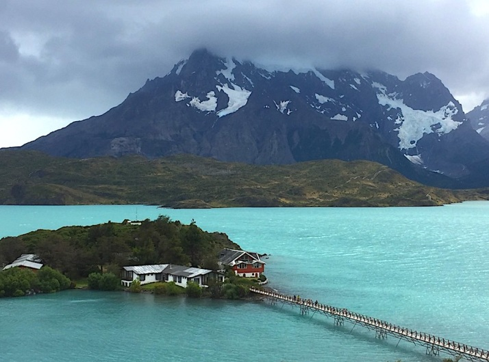 Torre del Paine island