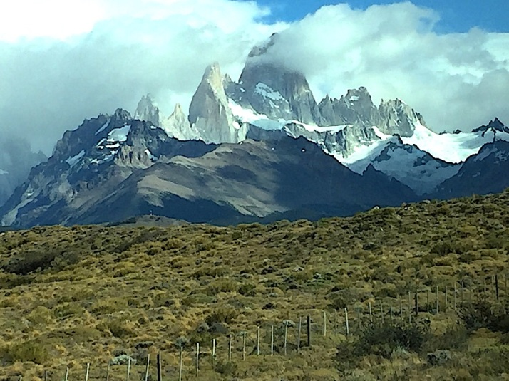 Fitz Roy from bus